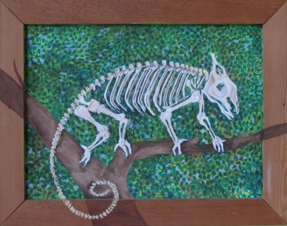 """Can't Do Leaves 18"""" x 14"""" $320.00"""