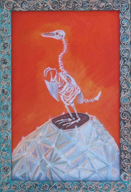 """Krakatoa Penguin 13"""" x 19"""" $320.00"""