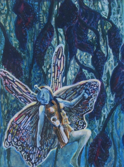 "Fairy Warrior 6"" x 8"" $140.00"