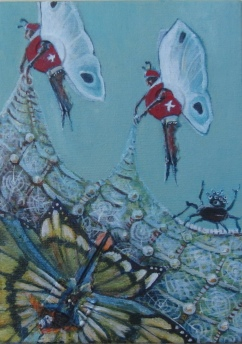 "Catch and Release 5 ""x7"" $120.00"
