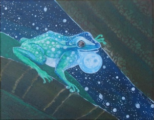 "SpaceFrog 10"" x 8"" $180.00"