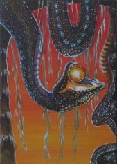 """Night Releases Day 5"""" x 7"""" $150.00"""